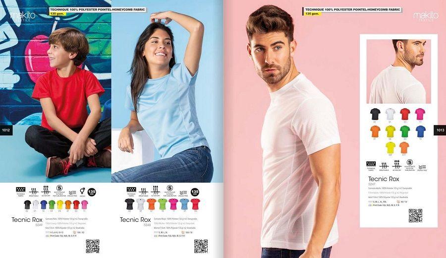 Camisetas personalizadas para publicidad