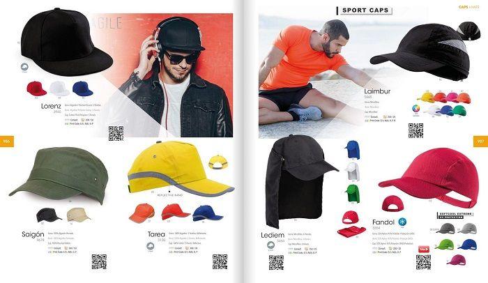 Gorras deportivas personalizadas