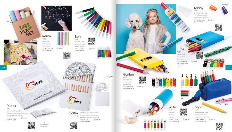Lápices colorines publicitarios
