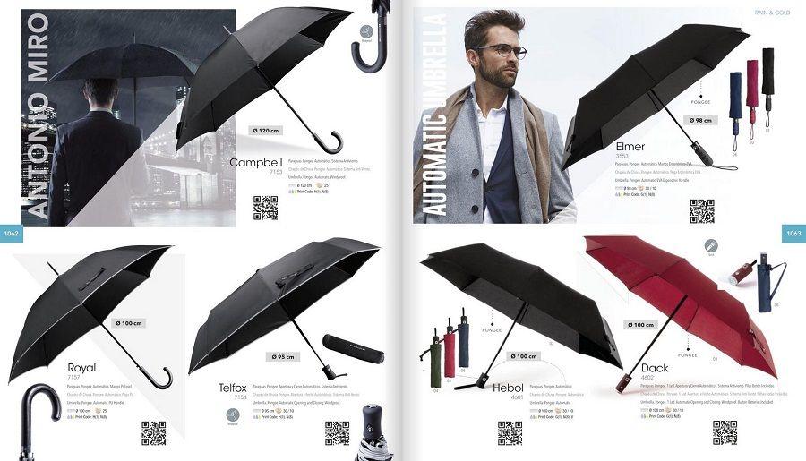 Paraguas de marca personalizados