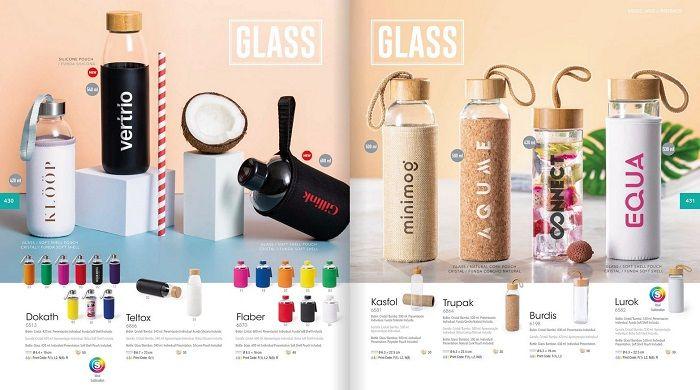 Botellas de cristal personalizadas