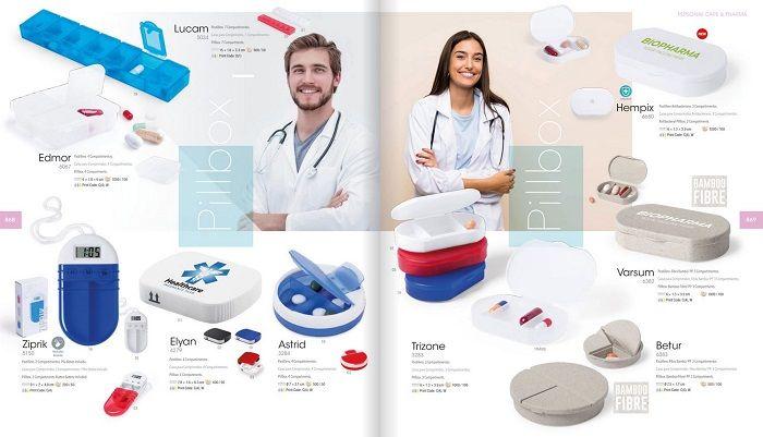 regalos publicitarios farmacia y salud
