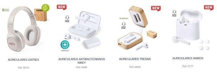 Auriculares inalámbricos personalizados