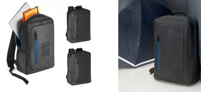 Mochila impermeable para portátil personalizada
